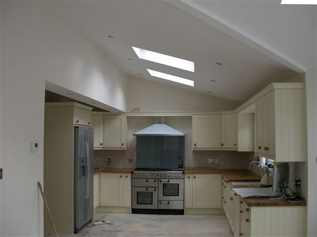 Extensions vaulted roofs building design for Kitchen design 6m x 4m