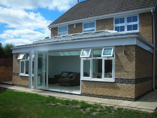 ... House Extension With Vaulted Roof In Camberley ...